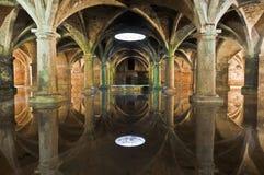Manueline Cistern at El-Jadida, Morocco Royalty Free Stock Photos