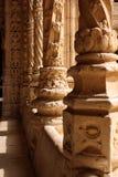 Manueline ornamentacja w Jironimo Fotografia Stock