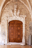 Manueline Portal in the Sao Francisco Convent. Royalty Free Stock Photo