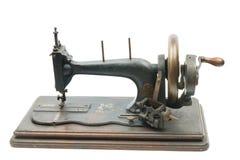 Manuell symaskin för klassisk tappningstil royaltyfria foton