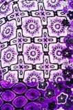 Manuell Textilgewebe Stockfotos