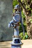 Manuell vattenpump Fotografering för Bildbyråer