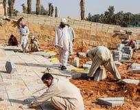 Manuella arbetare från Pakistan Fotografering för Bildbyråer