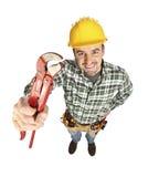 Manuelle Arbeitskraft mit Hilfsmittel Lizenzfreie Stockfotos