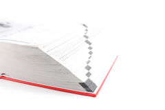 Manuelles Buch Stockbilder