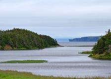 Manuels flod i den södra befruktningfjärden Arkivfoton