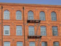 Manufactura en Lodz Foto de archivo libre de regalías