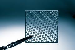 Manufacturado metamaterial de la muestra por 3dprinting fotos de archivo