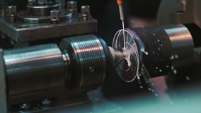 Manufacture of metal products stock video