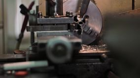Manufacture of metal products stock video footage
