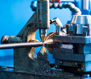 Manufacture of parts and machines Stock Photography