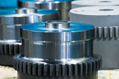 Manufacture of parts and machines Royalty Free Stock Photography