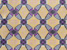 Manufactured African Fabric (cotton) Royalty Free Stock Photos