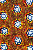 Manufactured African fabric (cotton) Stock Photography