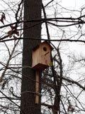 Wooden birdhouse Royalty Free Stock Photo