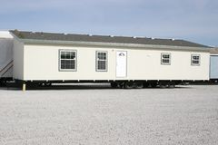 Manufactured House rear Stock Photography