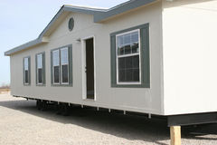 Manufactured Housing front stock image