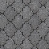 Manufactured Paving Slabs. Seamless Tileable Texture. Stock Photo