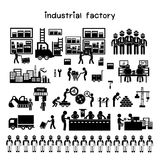 Manufacturer and distributor icon Royalty Free Stock Images