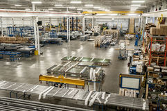 Manufacturing and assembly  factory Stock Photography