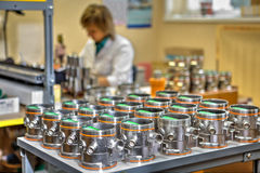 Manufacturing   industrial process control electronics instrumen Stock Images