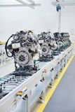 Manufacturing of the new engines Stock Image