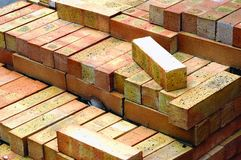 Manufacturing plant of bricks Stock Photography