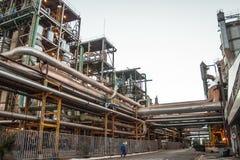 Manufacturing Plant. Mato Grosso, Brazil, April 10, 2008. Sugar and Ethanol Manufacturing Plant in Brazil Royalty Free Stock Image