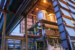 Manufacturing Plant Stock Photography