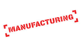 Manufacturing rubber stamp Stock Photography
