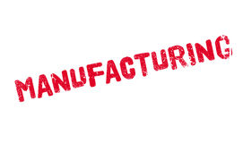 Manufacturing rubber stamp Royalty Free Stock Image