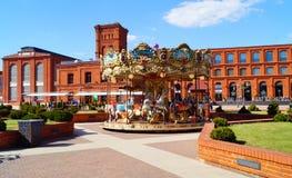 Manufaktura in Lodz, Polen Stock Foto's