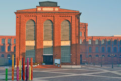 Manufaktura, Lodz, Polonia Immagini Stock Libere da Diritti
