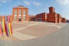 Manufaktura, Lodz, Polonia Immagine Stock