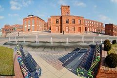 Manufaktura, Lodz, Polonia Fotografie Stock
