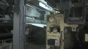 Manufaktura papier toaletowy i pieluchy zdjęcie wideo