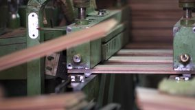 Manufaktura podłoga, parkietowy przerób zbiory wideo