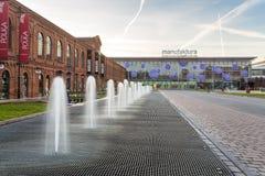 Manufaktura Shopping Mall, Lodz, central Poland Royalty Free Stock Photos