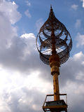 Manufatto al tempio khmer Fotografia Stock Libera da Diritti