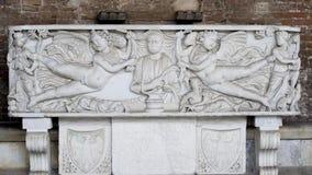 Manufatto della tomba (campo Santo - Pisa) Fotografia Stock