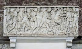 Manufatto della tomba in campo Santo (Pisa, campo dei miracoli) Fotografie Stock