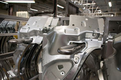 Manufatura da indústria automotriz Fotografia de Stock Royalty Free