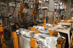 Manufatura da indústria automotriz Imagem de Stock