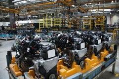 Manufatura da indústria automotriz Foto de Stock Royalty Free