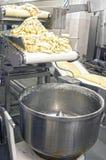 Manufatura da massa de pão Imagens de Stock Royalty Free