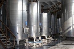 Manufatura de vinho fotografia de stock