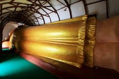 Manuha-Tempel, Bagan Archaeological Zone, Myanmar Lizenzfreies Stockbild