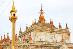 Manuha-Tempel, Bagan Archaeological Zone, Myanmar Stockbild