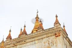 Manuha-Tempel, Bagan Archaeological Zone, Myanmar Lizenzfreies Stockfoto