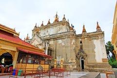 Manuha-Tempel, Bagan Archaeological Zone, Myanmar Lizenzfreie Stockfotos